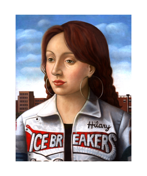 A beautiful narrative portrait by Amy Hill